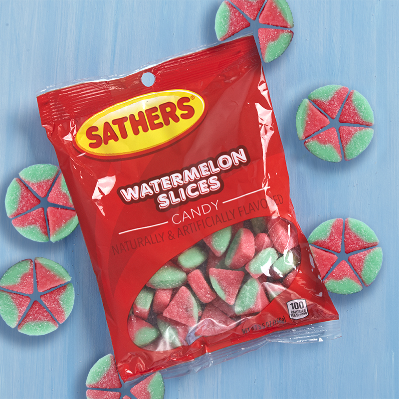 Sathers Watermelon Slices